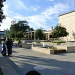 Flamson Plaza - favorite spot for students