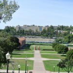 View from the top of Janss Steps