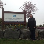 Welcome Sign to VIU