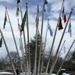Fountain of Flags